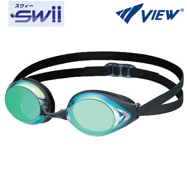 V220MR (BKEM) VIEW 뷰 패킹 미러렌즈 수경