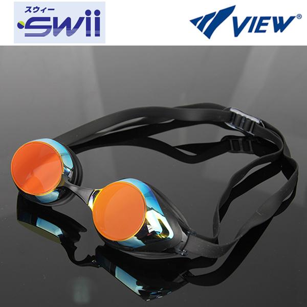 V220MR (BKSHD) VIEW 뷰 패킹 미러렌즈 수경