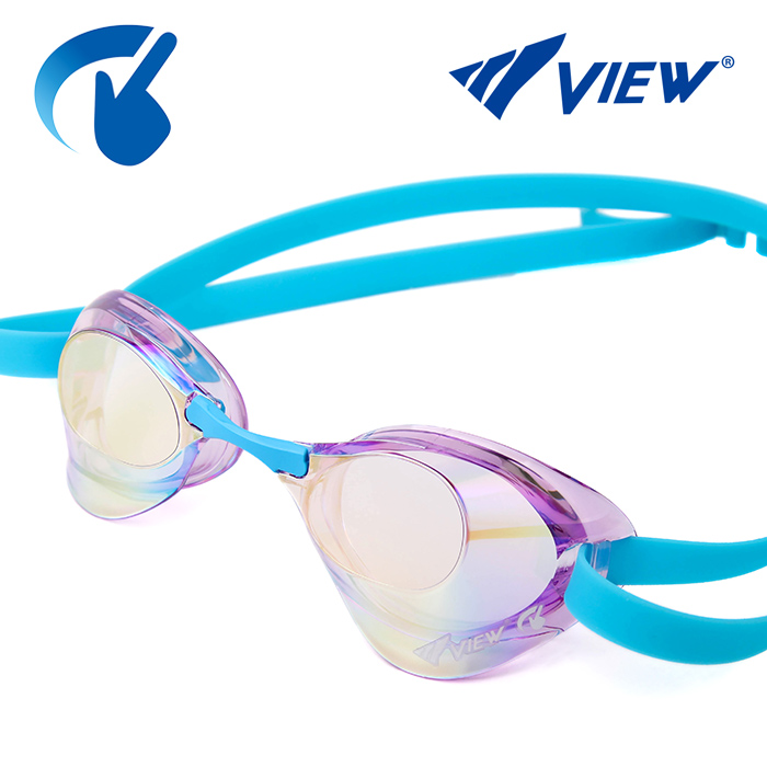 V121SAM-LVGO 뷰 VIEW Blade 노패킹 미러렌즈 수경
