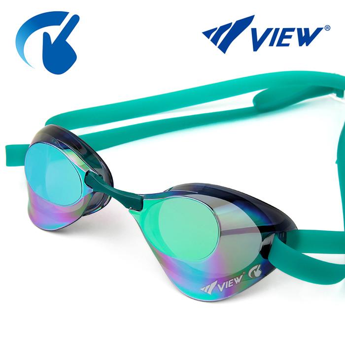 V121SAM-SKEM 뷰 VIEW Blade 노패킹 미러렌즈 수경