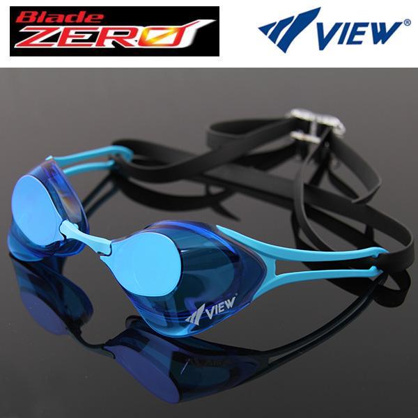 V127MR (GBLBL) 뷰 노패킹 미러렌즈 수경