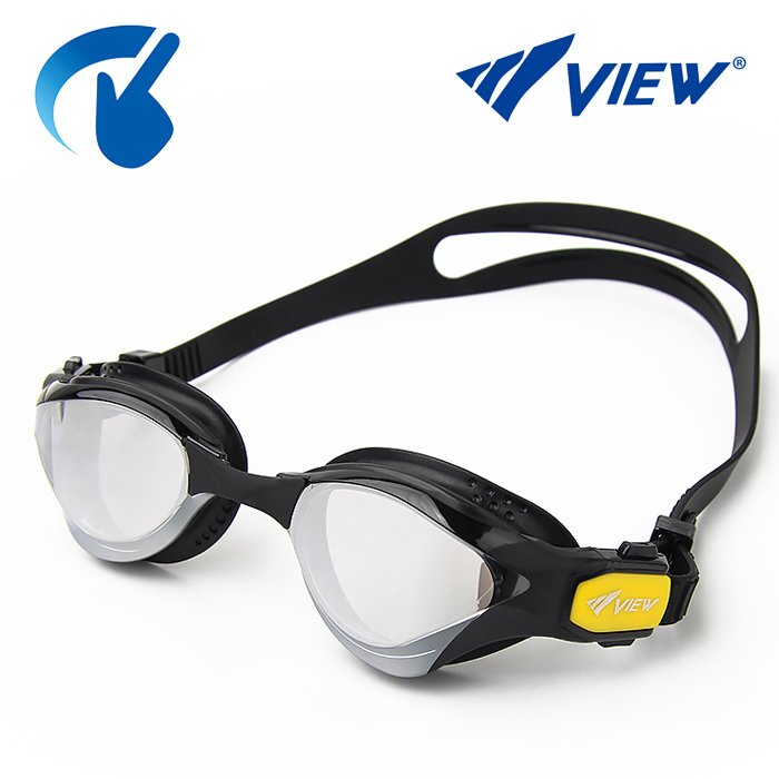 V2000SAM-CBDY 뷰 VIEW DELPINA 미러렌즈 패킹수경
