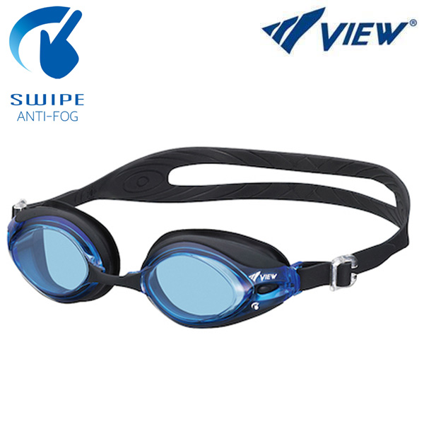 V-540SA-BLBK 뷰 VIEW 패킹 노미러렌즈 수경