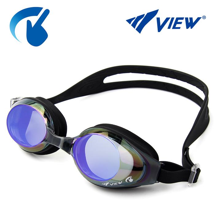 V630ASAM-BKBL 뷰 VIEW 패킹 미러렌즈 수경