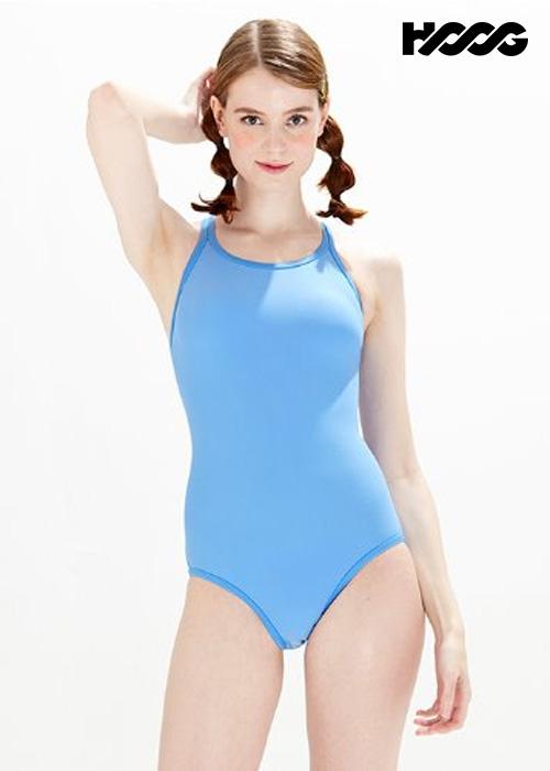 후그 WRT1452 로우컷 란제리 X-back 탄탄이 여성 원피스 수영복