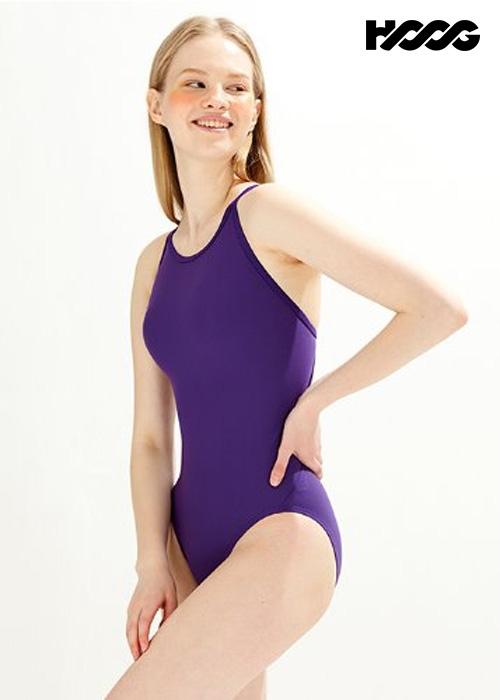 후그 WST1435 미들컷 크로스오버 X-back 탄탄이 여성 원피스 수영복