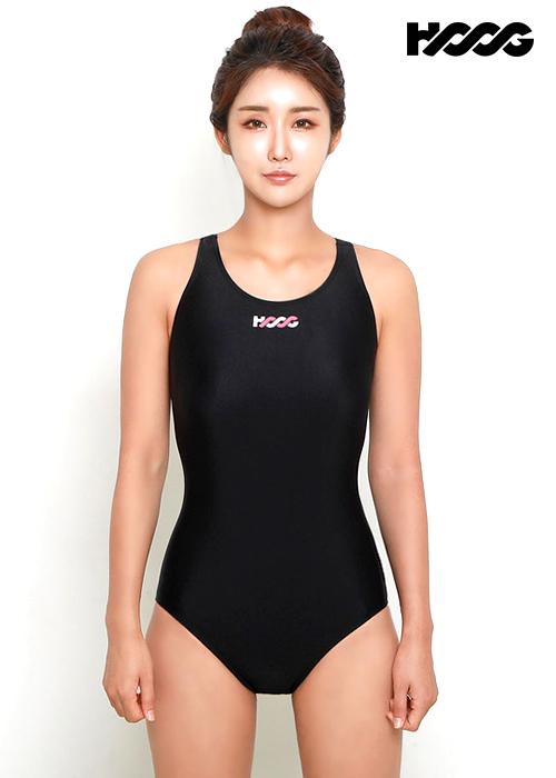 후그 WUA1154 로우컷 Y-back 원피스 수영복