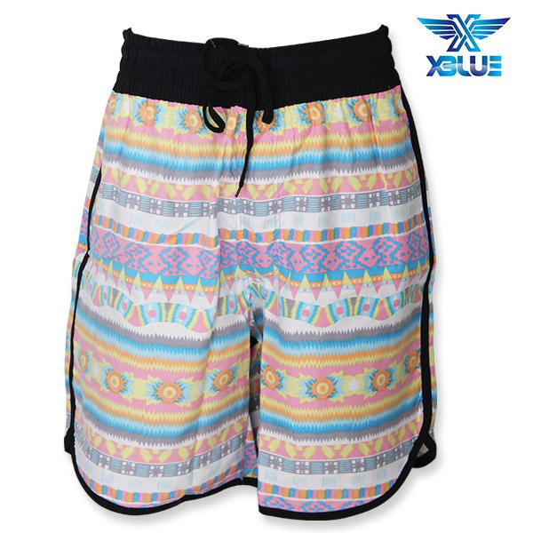 XBL-9728 엑스블루 XBLUE 나염 트렁크 수영복