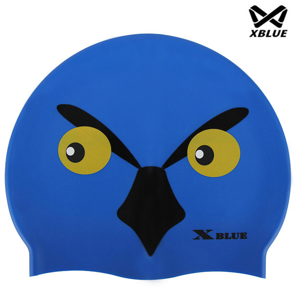 XB-006(수리) 실리콘 주니어 수모 수영모