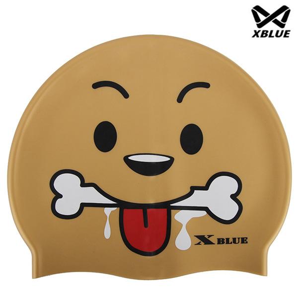 XB-009(땡구) 실리콘 주니어 수모 수영모