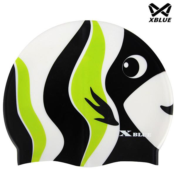 XB-014(열대) 실리콘 주니어 수모 수영모
