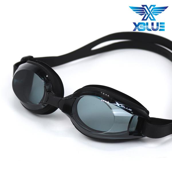 엑스블루 패킹 노미러렌즈 수경 XB-11N(BLK)