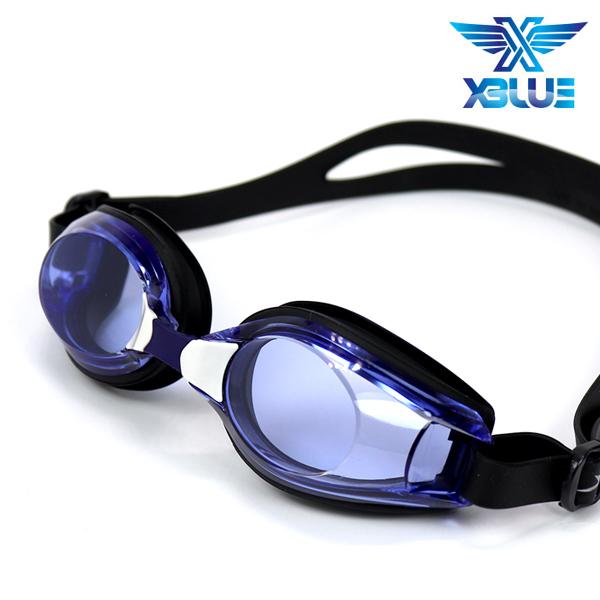 엑스블루 패킹 노미러렌즈 수경 XB-11N(DBLU)