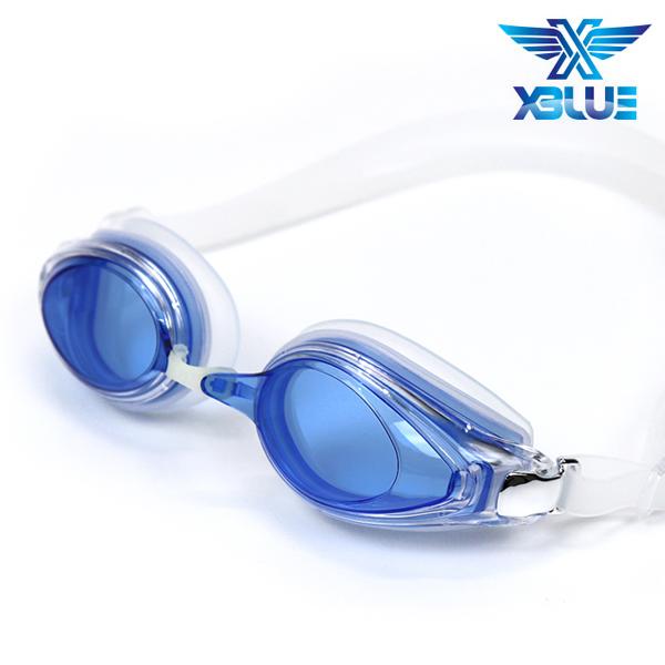 엑스블루 패킹 노미러렌즈 수경 XB-14N(BLU)