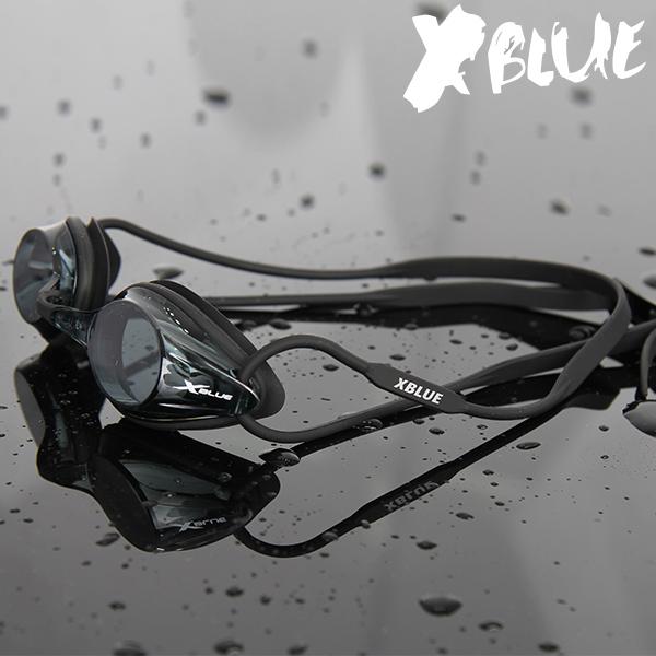 엑스블루 패킹 노미러렌즈 수경 XB-17N(BLK)