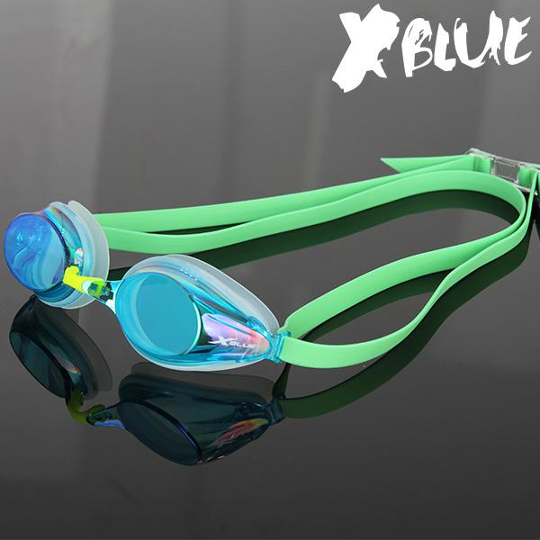 엑스블루 패킹 미러렌즈 수경 XB-20MR(AQGR)