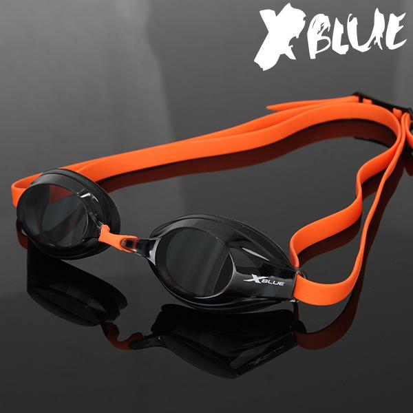 엑스블루 패킹 노미러렌즈 수경 XB-21N(BLK)