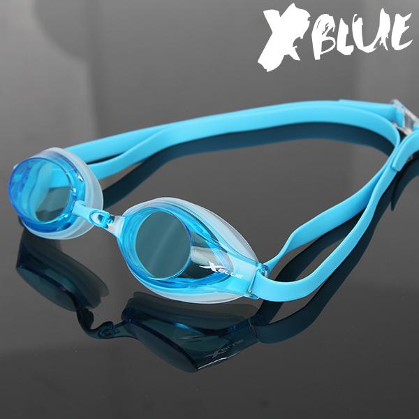 엑스블루 패킹 노미러렌즈 수경 XB-21N(BLU)