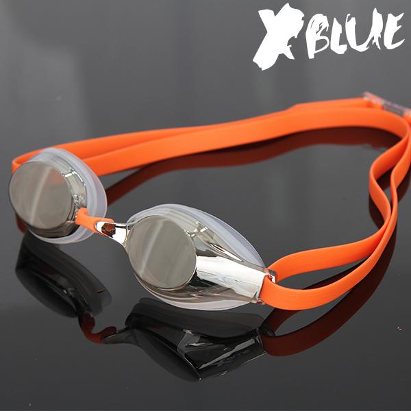 엑스블루 패킹 미러렌즈 수경 XB-22MR(CLOR)