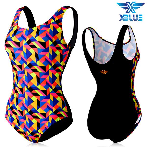 XBL-0020 원피스-1 엑스블루 여성 아쿠아복 수영복