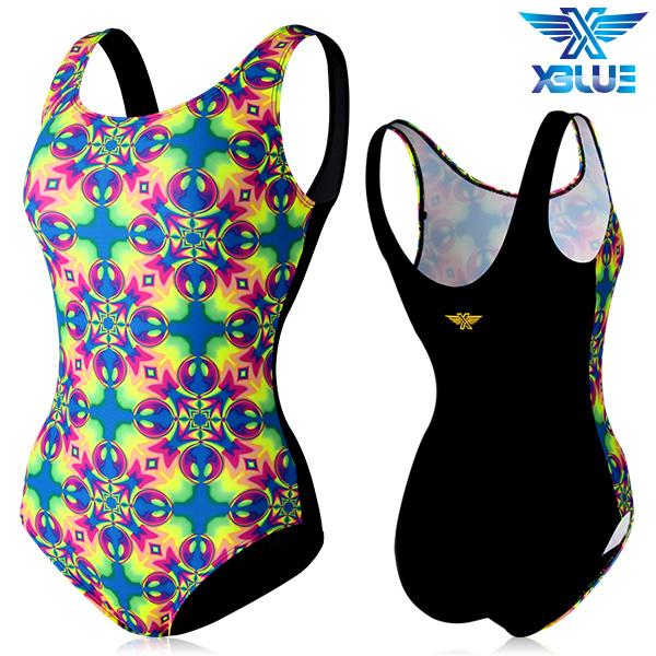 XBL-0020 원피스-3 엑스블루 여성 아쿠아복 수영복