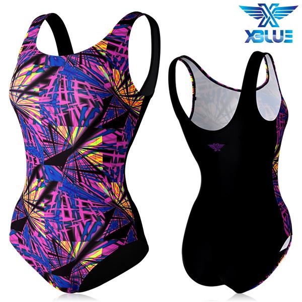 XBL-0020 원피스-4 엑스블루 여성 아쿠아복 수영복