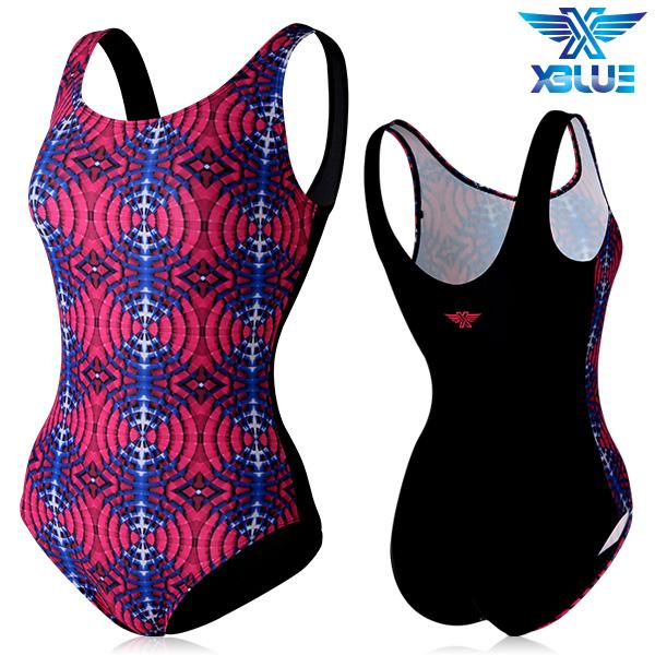 XBL-0020 원피스-6 엑스블루 여성 아쿠아복 수영복