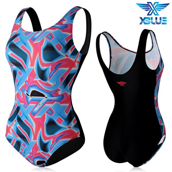 XBL-0020 원피스-7 엑스블루 여성 아쿠아복 수영복