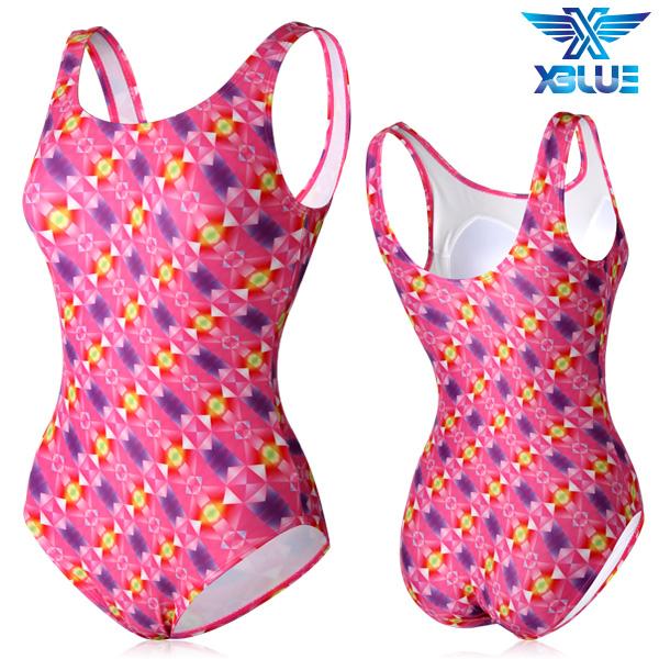 XBL-0021 원피스-10 엑스블루 여성 아쿠아복 수영복