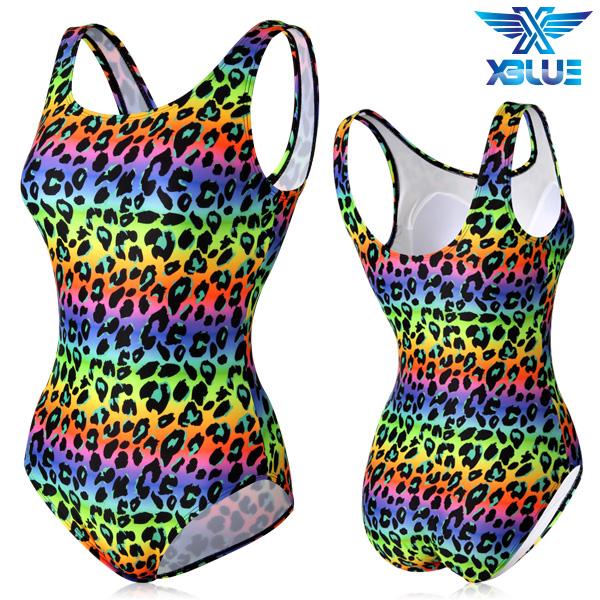 XBL-0021 원피스-11 엑스블루 여성 아쿠아복 수영복
