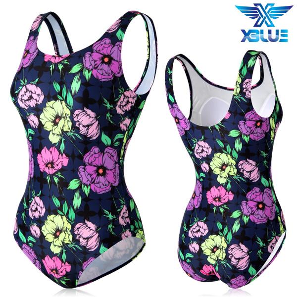 XBL-0021 원피스-12 엑스블루 여성 아쿠아복 수영복