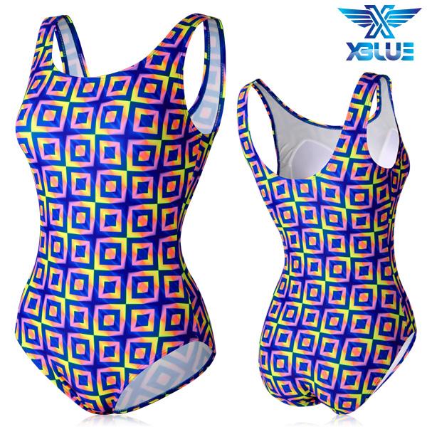 XBL-0021 원피스-13 엑스블루 여성 아쿠아복 수영복