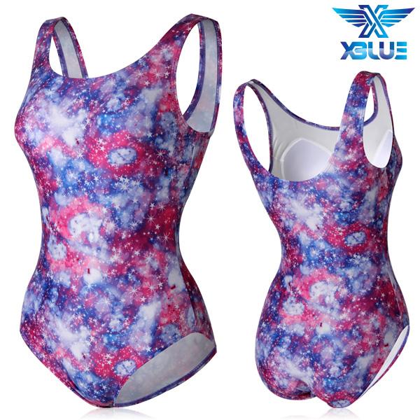 XBL-0021 원피스-14 엑스블루 여성 아쿠아복 수영복
