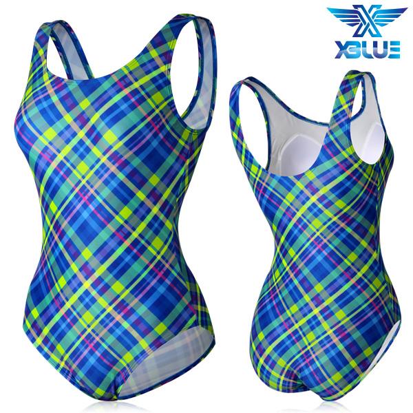 XBL-0021 원피스-15 엑스블루 여성 아쿠아복 수영복