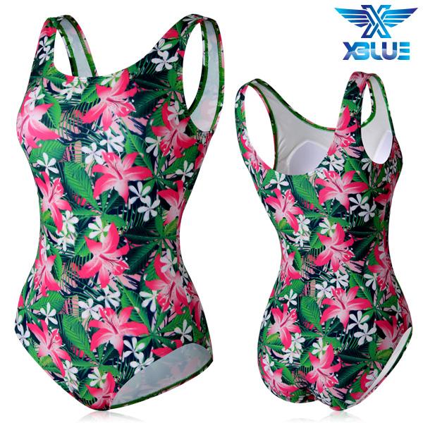 XBL-0021 원피스-17 엑스블루 여성 아쿠아복 수영복