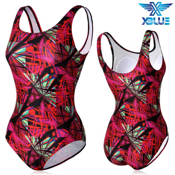 XBL-0021 원피스-1 엑스블루 여성 아쿠아복 수영복