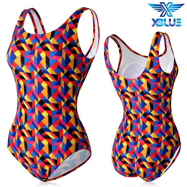XBL-0021 원피스-20 엑스블루 여성 아쿠아복 수영복