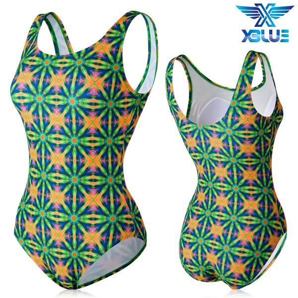 XBL-0021 원피스-21 엑스블루 여성 아쿠아복 수영복