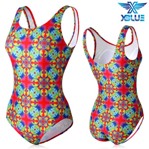 XBL-0021 원피스-22 엑스블루 여성 아쿠아복 수영복