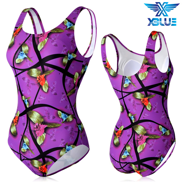 XBL-0021 원피스-5 엑스블루 여성 아쿠아복 수영복