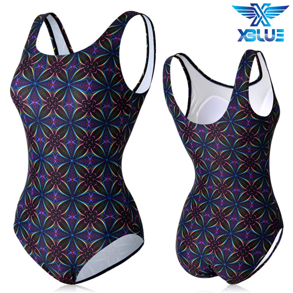XBL-0021 원피스-6 엑스블루 여성 아쿠아복 수영복