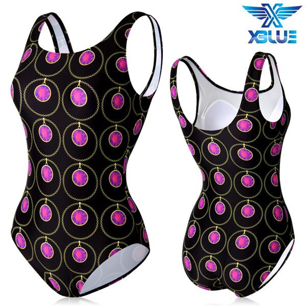 XBL-0021 원피스-7 엑스블루 여성 아쿠아복 수영복