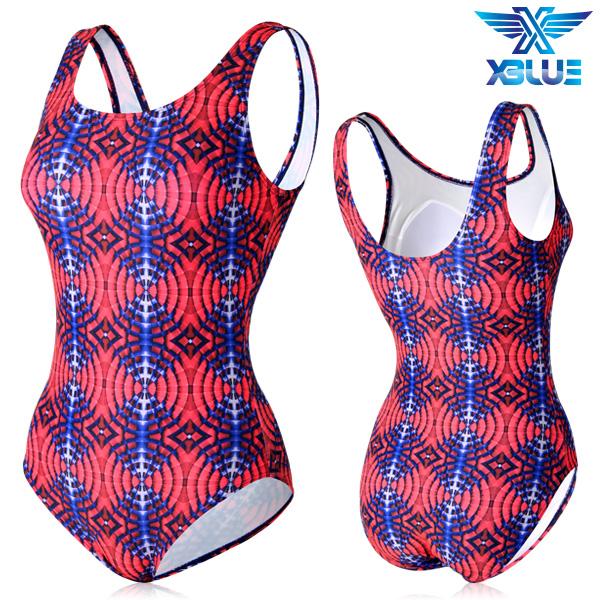XBL-0021 원피스-8 엑스블루 여성 아쿠아복 수영복