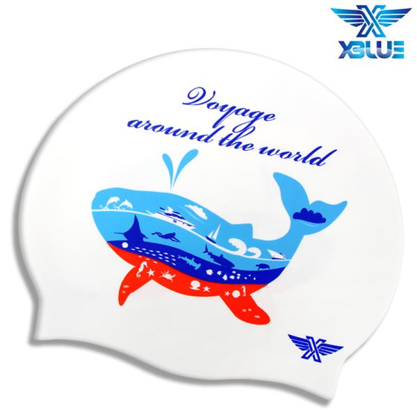 XBL-0201 SEA CRUISE 엑스블루 실리콘 수모 수영모