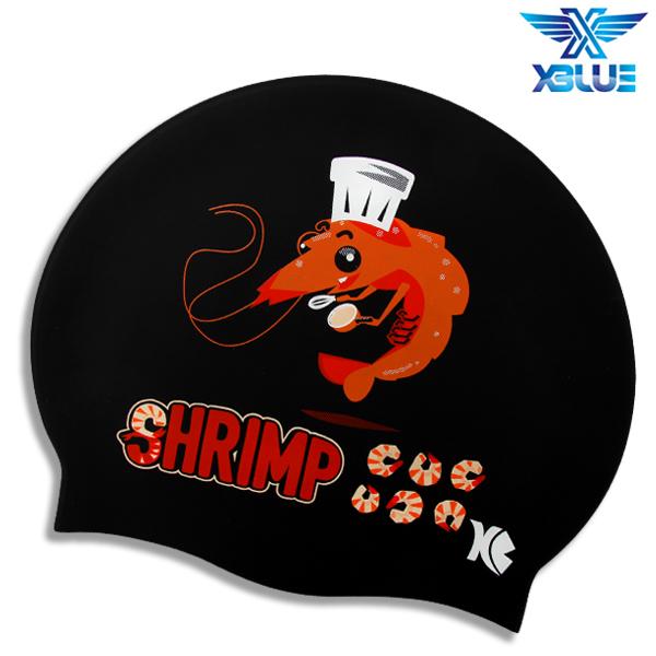 XBL-0206 CHEF SHRIMP 엑스블루 실리콘 수모 수영모