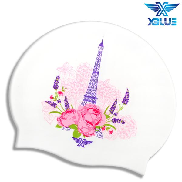 XBL-0211 EIFFEL TOWER 엑스블루 실리콘 수모 수영모