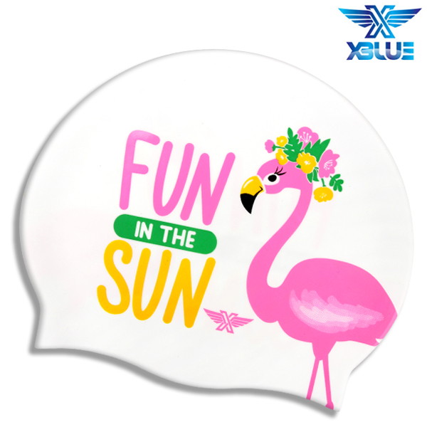 XBL-0214 FUN IN THE SUN 엑스블루 실리콘 수모 수영모