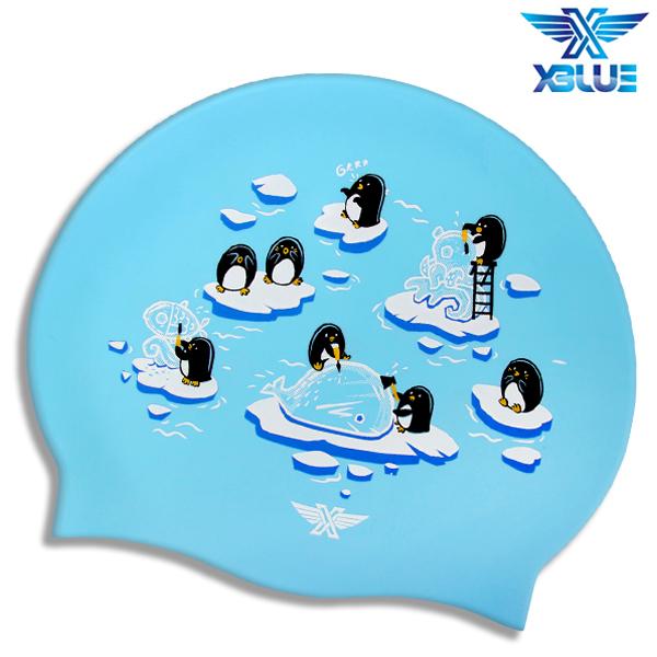 XBL-0215 ICE SCULPTURE 엑스블루 실리콘 수모 수영모