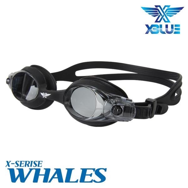 XBL-0400-BLK 엑스블루 WHALES 노미러 패킹 수경