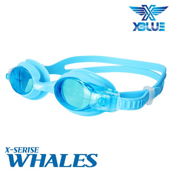XBL-0400-BLU 엑스블루 WHALES 노미러 패킹 수경